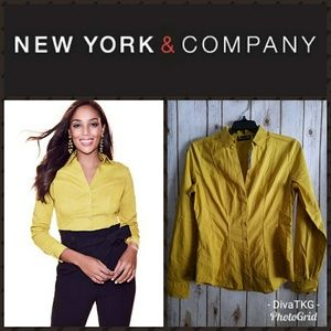 New York and Company Stretch Shirt